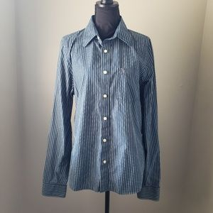 Abercrombie & Fitch Muscle Button Down Dress Shirt